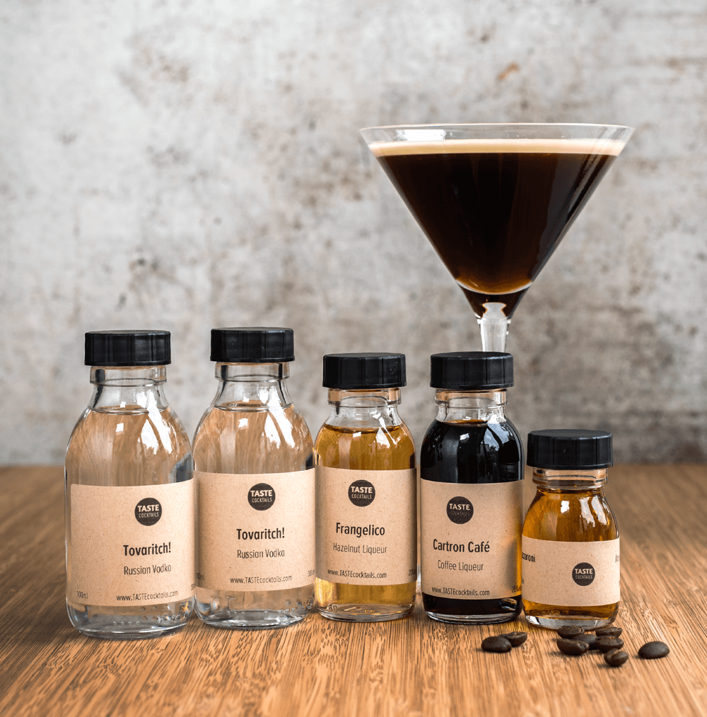 Espresso Martini Kit And Gifts From 35 00 Order Online Taste Cocktails