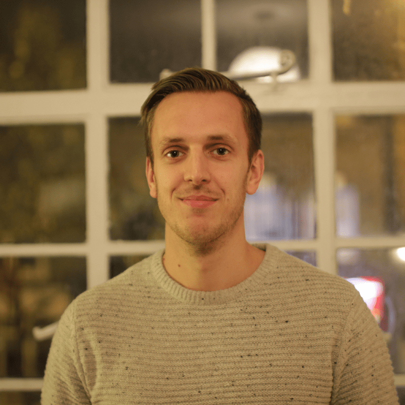 Max Bramwell - Head of Marketing