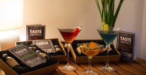 An array of TASTE cocktails kits