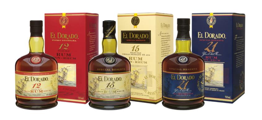 3 El Dorado Rums