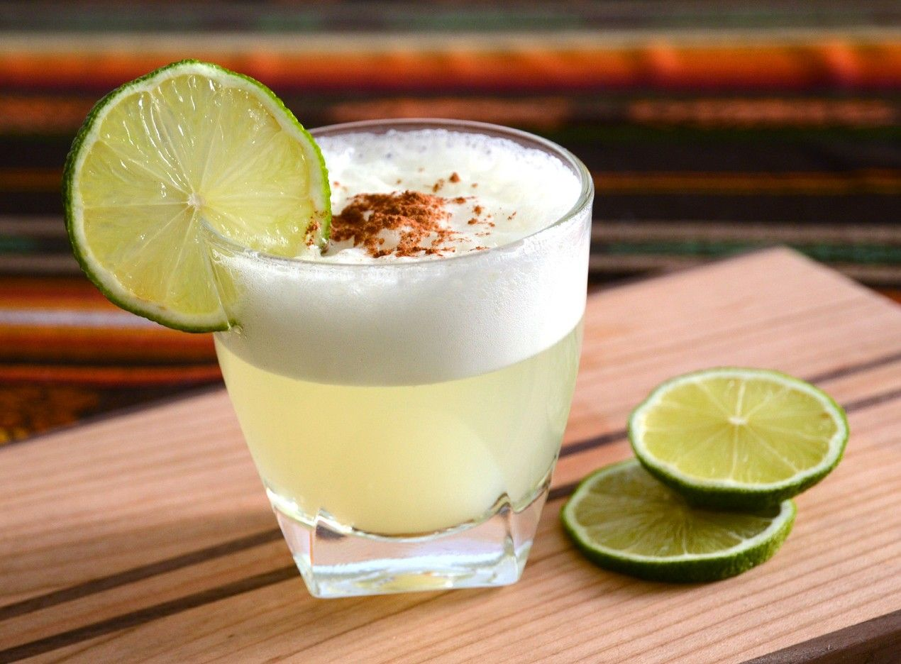 Cocktail from Chile and Peru – Pisco Sour