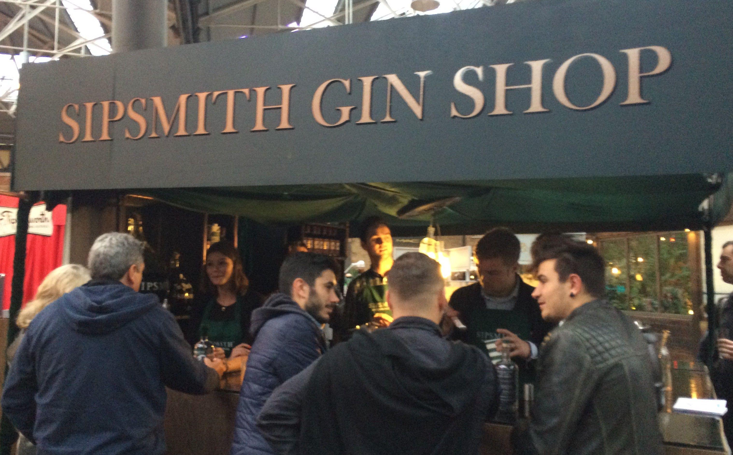 Sipmith gin shop