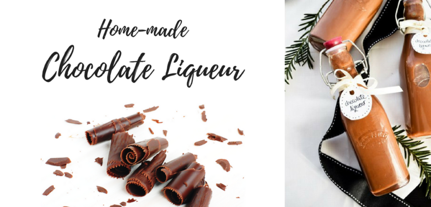 Easy Recipe to Make Chocolate Liqueur at Home - TASTE cocktails